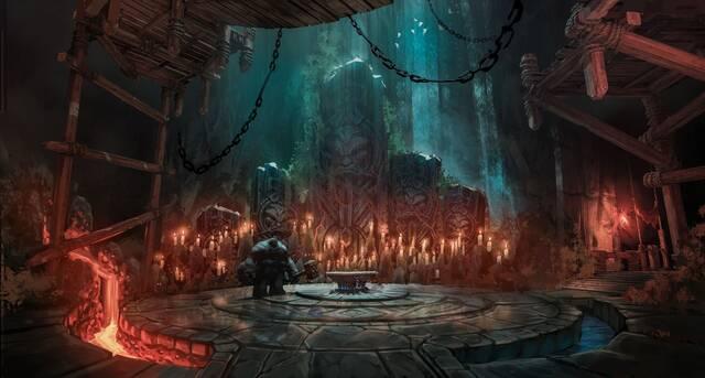 Darksiders III muestra su ambientación en arte conceptual