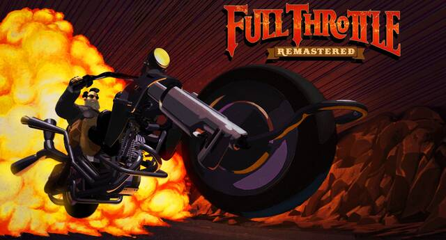 Full Throttle Remastered llegará a PS4, PS Vita y PC el 18 de abril