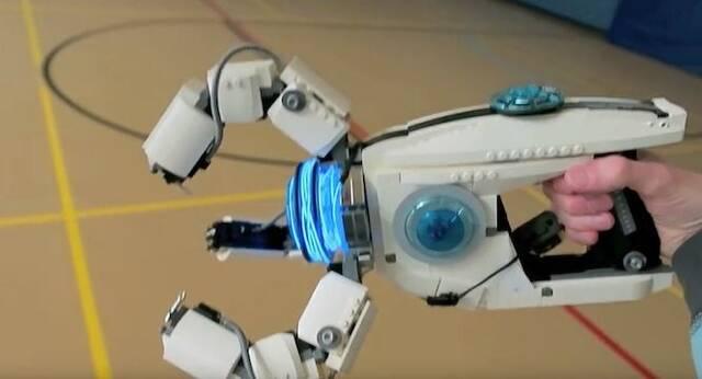 Crean el arma de Symmetra de Overwatch con piezas de LEGO