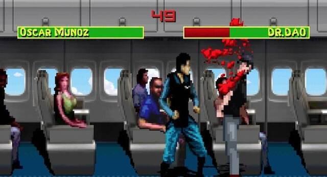 Parodian el desalojo de United Airlines usando Mortal Kombat