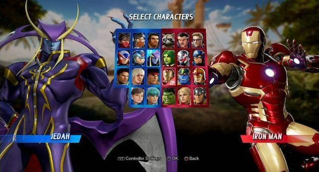 Marvel vs. Capcom: Infinite suma Jedah de Darkstalkers