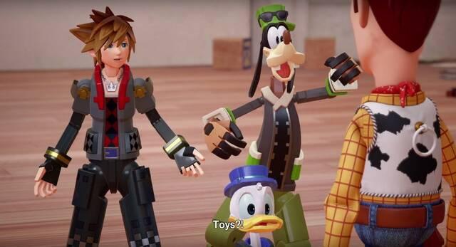 Toy Story estará presente en el mundo de Kingdom Hearts 3; sale en 2018