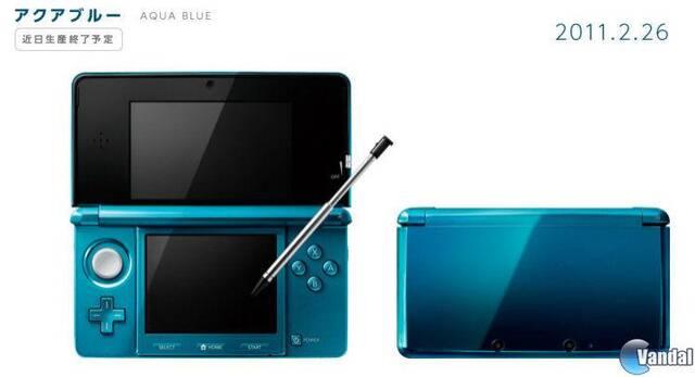 La Nintendo 3DS azul dejará de venderse en Japón