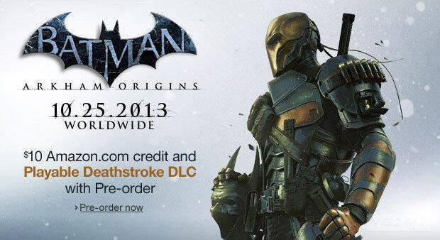El contenido descargable por la reserva de Batman: Arkham Origins también llegará a Wii U
