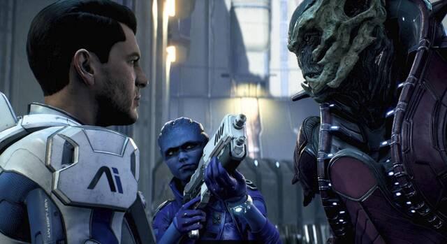 Mass Effect: Andromeda recibe nueva actualización