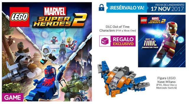 GAME detalla sus incentivos para LEGO Marvel Super Heroes 2