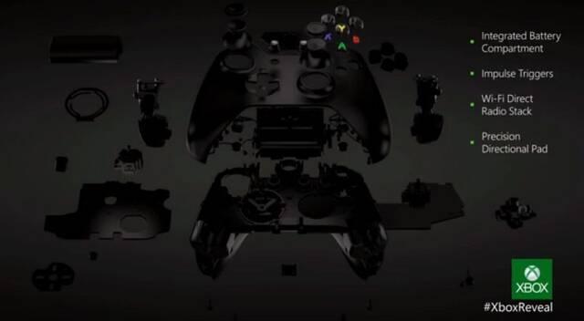 Presentado el mando de Xbox One