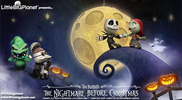 Pesadilla antes de Navidad y Frankenweenie llegan a LittleBigPlanet