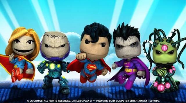 LittleBigPlanet muestra su descargable de DC Comics