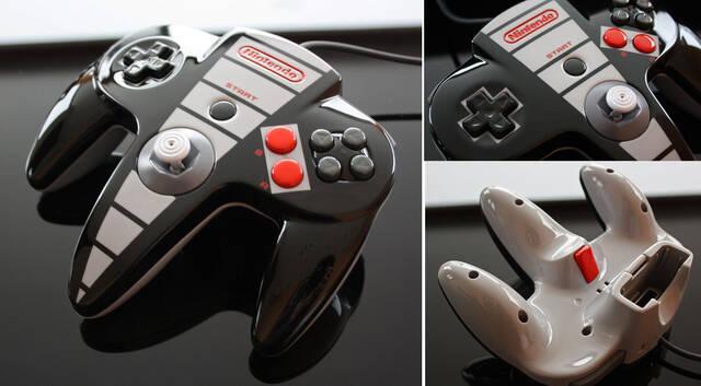 Crean un mando de Nintendo 64 inspirado en NES