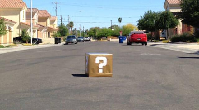 50 personas evacuadas en Arizona por un bloque de interrogaci�n de Super Mario
