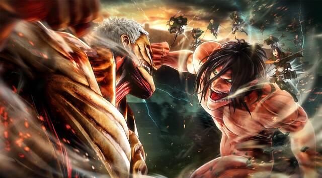 Attack on Titan 2 se anuncia también para Nintendo Switch, PS Vita y PC