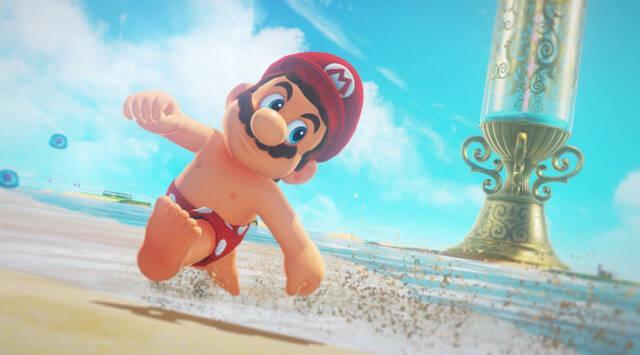 Mario sin camiseta es la nueva sensación de Internet