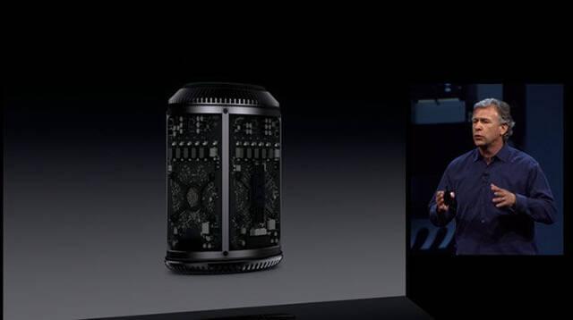 Apple presenta el nuevo Mac Pro, pequeño y cilíndrico