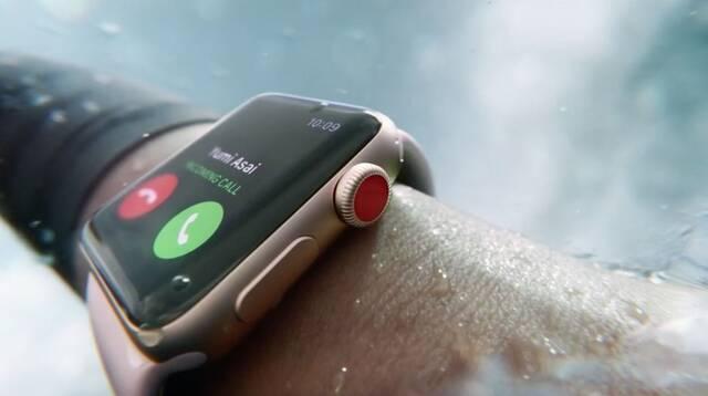 Apple anuncia la tercera generación de su Apple Watch con tecnología LTE