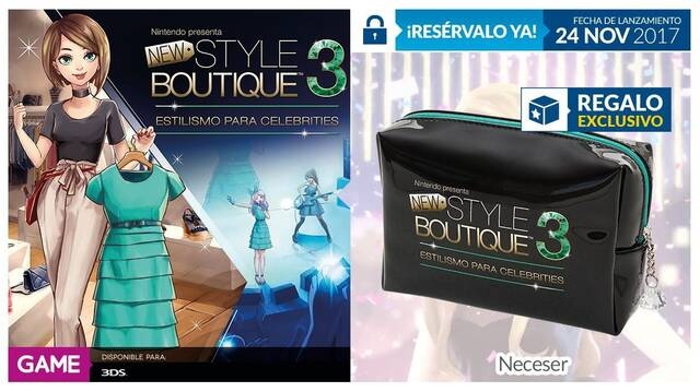 GAME anuncia su incentivo por reserva de New Style Boutique 3 Styling Star