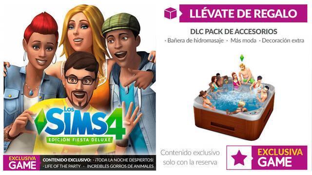 GAME anuncia incentivo por reservas de Los Sims 4 y la Edición Fiesta
