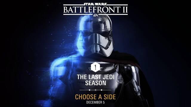 Los primeros DLC gratuitos de Star Wars Battlefront II llegarán en diciembre