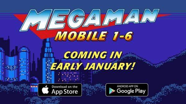 Las seis primeras entregas de Mega Man llegarán a Android e iOS también en Occidente