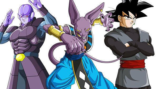 Dragon Ball FighterZ suma a Beerus, Hit y Goku Black