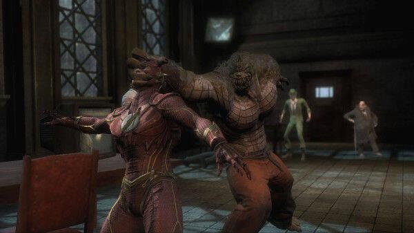 Killer Croc se confirma como personaje jugable en Injustice: Gods Among Us