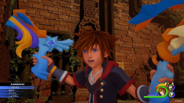 Kingdom Hearts 3 tendrá un segundo personaje controlable