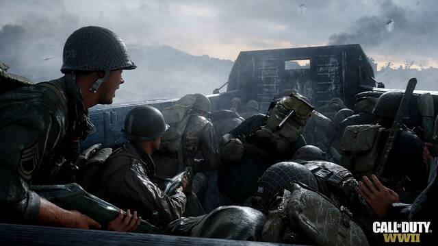 Call of Duty: WWII el más vendido la última semana en Reino Unido