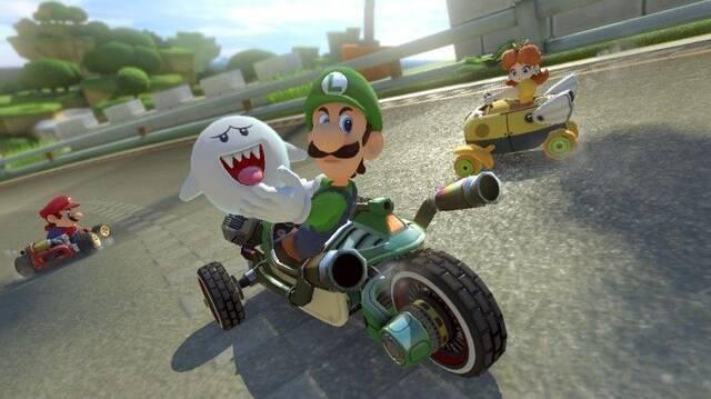 Mario Kart 8 Deluxe es el juego más vendido la última semana en Reino Unido