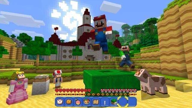 Minecraft para Nintendo Switch recibe un nuevo parche