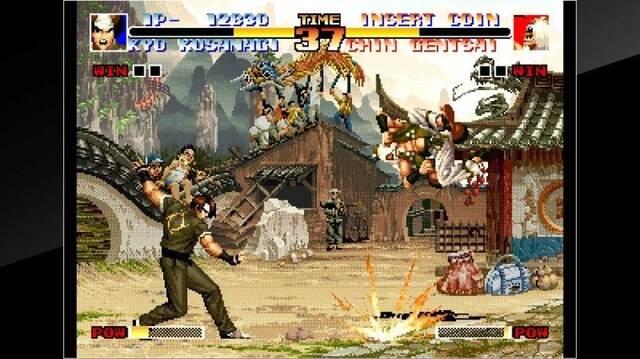 Comparan los juegos de Neo Geo en Switch antes y después de su último parche