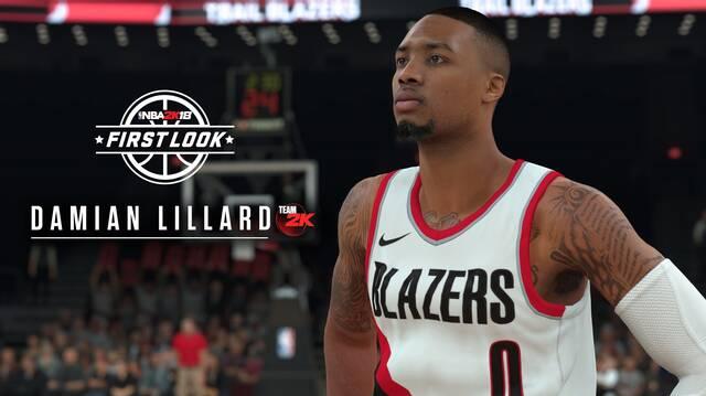 2K Sports muestra en acción el juego deportivo NBA 2K18