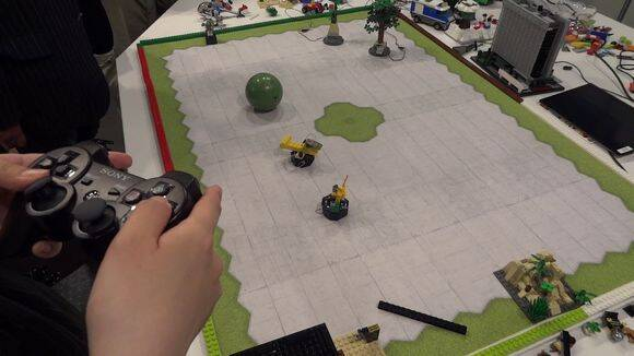 Lego y Sony experimentan para unir juguetes y videojuegos
