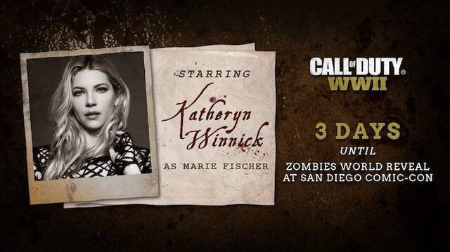 Katheryn Winnick, de la serie Vikings, estará en Call of Duty: WWII