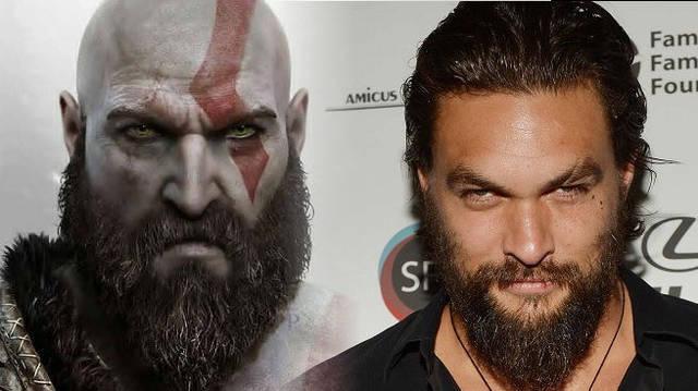 Jason Momoa se ofrece para interpretar a Kratos en un film sobre God of War