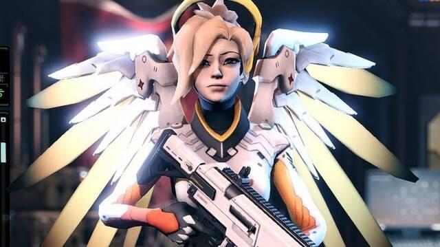 Mercy de Overwatch se une tu equipo en XCOM 2: War of the Chosen