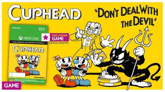 Cuphead venderá su código en tiendas GAME