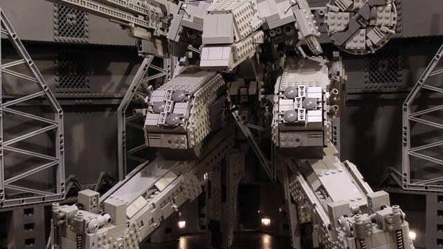 Construye tu propio Metal Gear Rex con piezas de LEGO