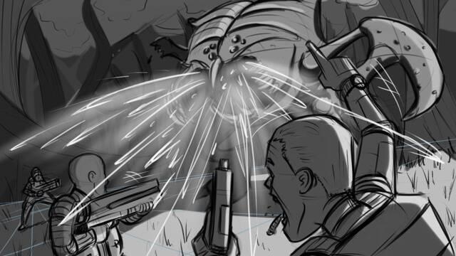 Primeros bocetos de Evolve, uno de los juegos no anunciados de THQ