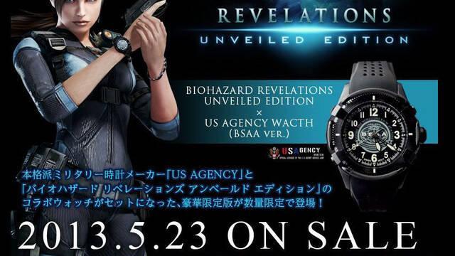 Una edición especial de Resident Evil Revelations para Japón