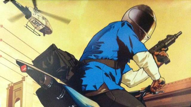 Se muestra una nueva ilustraci�n de Grand Theft Auto V