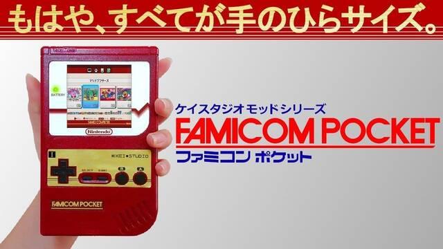 Convierten una NES Mini japonesa en una portátil