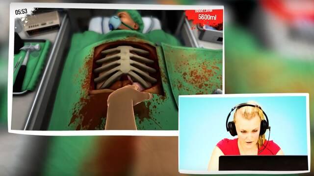 Cirujanos cualificados en la vida real se ponen a jugar a Surgeon Simulator