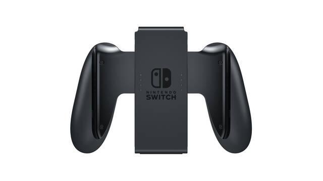 El soporte para mandos Joy-Con incluido con Switch no carga su batería
