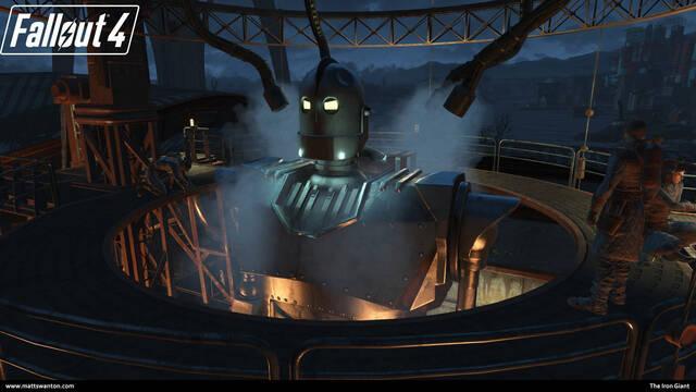 Un mod transforma a Liberty Prime de Fallout 4 en el Gigante de Hierro