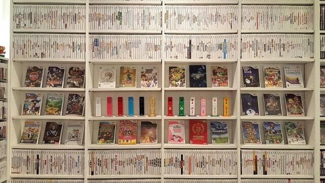 Un coleccionista consigue reunir todos los juegos lanzados en Wii