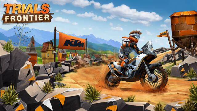Las motocicletas y los retos de Trials Frontier llegan al Apple TV y Android TV