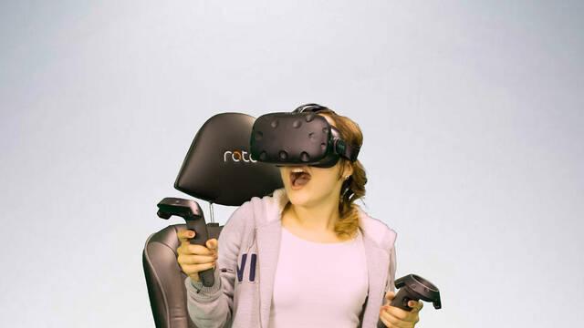 La silla para la realidad virtual ROTO VR, llegará a comienzos de 2017