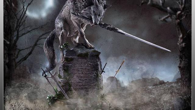 Presentada una nueva figura de Sif, el Gran Lobo Gris de Dark Souls