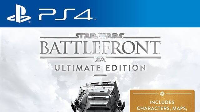 Star Wars Battlefront Ultimate Edition aparece en Amazon