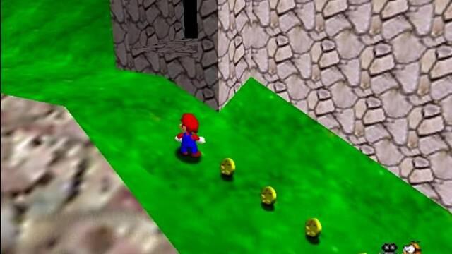 Encuentran una nueva moneda de Super Mario 64 imposible de conseguir